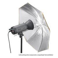 Für weitere Info hier klicken. Artikel: Walimex pro 2in1 Reflexschirm gold/silber 84cm
