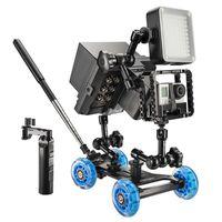Für weitere Info hier klicken. Artikel: Walimex pro Dolly Action Set Gopro III