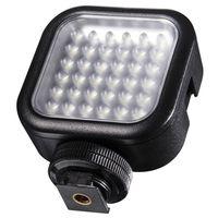 Für weitere Info hier klicken. Artikel: Walimex pro LED Foto Video Leuchte 36 LED dimmbar