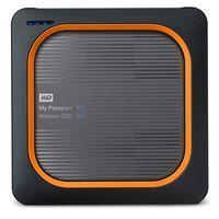 Für weitere Info hier klicken. Artikel: Western Digital WD My Passport Wireless SSD gray externe Festplatte 2 TB