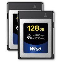 Für weitere Info hier klicken. Artikel: Wise 2x CFexpress 128GB