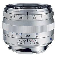 Für weitere Info hier klicken. Artikel: Zeiss C Sonnar T* 50mm f/1,5 ZM silber Leica M