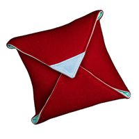 Für weitere Info hier klicken. Artikel: ZKIN Tuch Mayura Leder und Mikrofasertasche rot
