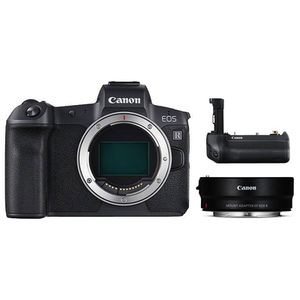 Für weitere Info hier klicken. Artikel: Canon EOS R + Adapter EF-EOS R + Batteriegriff BG-E22