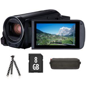 Für weitere Info hier klicken. Artikel: Canon LEGRIA HF-R88 Premium Kit / Tasche / miniStativ / 8GB SD Karte