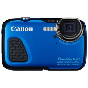 Für weitere Info hier klicken. Artikel: Canon PowerShot D30 blau