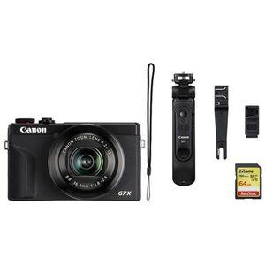 Für weitere Info hier klicken. Artikel: Canon Powershot G7X Mark III Vlogger Kit incl 64 GB SD-Karte schwarz