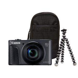Für weitere Info hier klicken. Artikel: Canon PowerShot SX730 HS Travel Kit schwarz