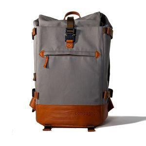 Für weitere Info hier klicken. Artikel: Compagnon Rucksack the backpack 2.0 grau-hellbraun