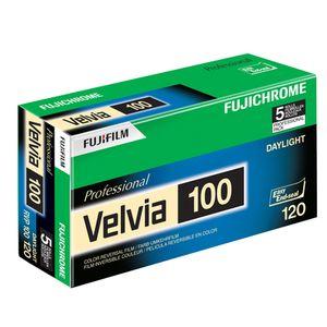 Für weitere Info hier klicken. Artikel: Fujifilm Diafilm Velvia 100 120 5er Pack
