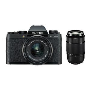 Für weitere Info hier klicken. Artikel: Fujifilm X-T100 + XC 15-45mm OIS PZ + XC 50-230mm OIS Vers. II Fujifilm X schwarz