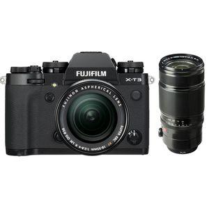 Für weitere Info hier klicken. Artikel: Fujifilm X-T3 + XF 18-55mm f/2,8-4 R LM OIS + XF 50-140 f/2,8 R LM OIS WR schwarz Fujifilm X