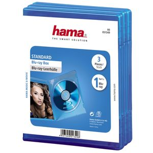 Für weitere Info hier klicken. Artikel: Hama Blu-Ray Leerhülle 3er