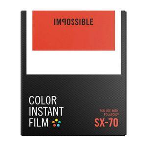 Für weitere Info hier klicken. Artikel: Impossible Sofortbildfilm color SX 70
