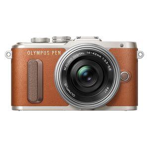 Für weitere Info hier klicken. Artikel: Olympus PEN E-PL 8,AF 14-42 EZ Pancake Micro Four Thirds braun
