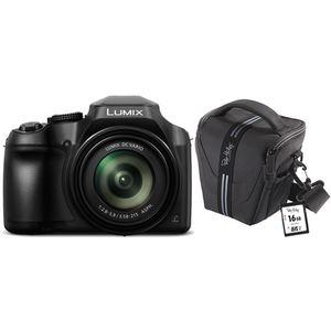 Für weitere Info hier klicken. Artikel: Panasonic Lumix DC-FZ83 Set, inklusive 32 GB SD Karte +Tasche