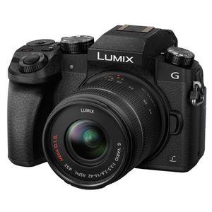 Für weitere Info hier klicken. Artikel: Panasonic Lumix DMC-G70 + AF X 14-42mm OIS Vario schwarz