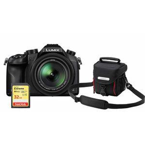 Für weitere Info hier klicken. Artikel: Panasonic Lumix DMC-FZ 1000 + Tasche DMW-PZH 76 + SDHC-Karte 32GB