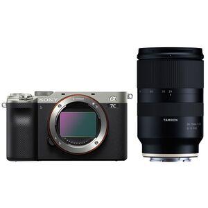 Für weitere Info hier klicken. Artikel: Sony Alpha 7C (ILCE-7C) Gehäuse + Tamron 28-75mm silber-schwarz