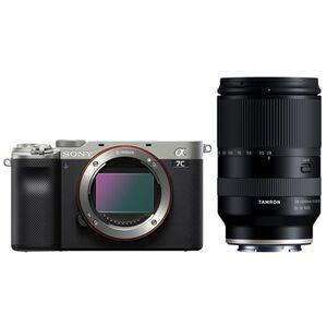 Für weitere Info hier klicken. Artikel: Sony Alpha 7C (ILCE-7C) Gehäuse + Tamron 28-200mm silber-schwarz