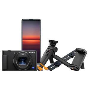 Für weitere Info hier klicken. Artikel: Sony Vlog-Kamera ZV-1 + Sony Xperia 5 II Streaming Kit
