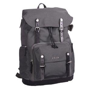 Für weitere Info hier klicken. Artikel: ZKIN Backpack Raw Yeti charcoal grey