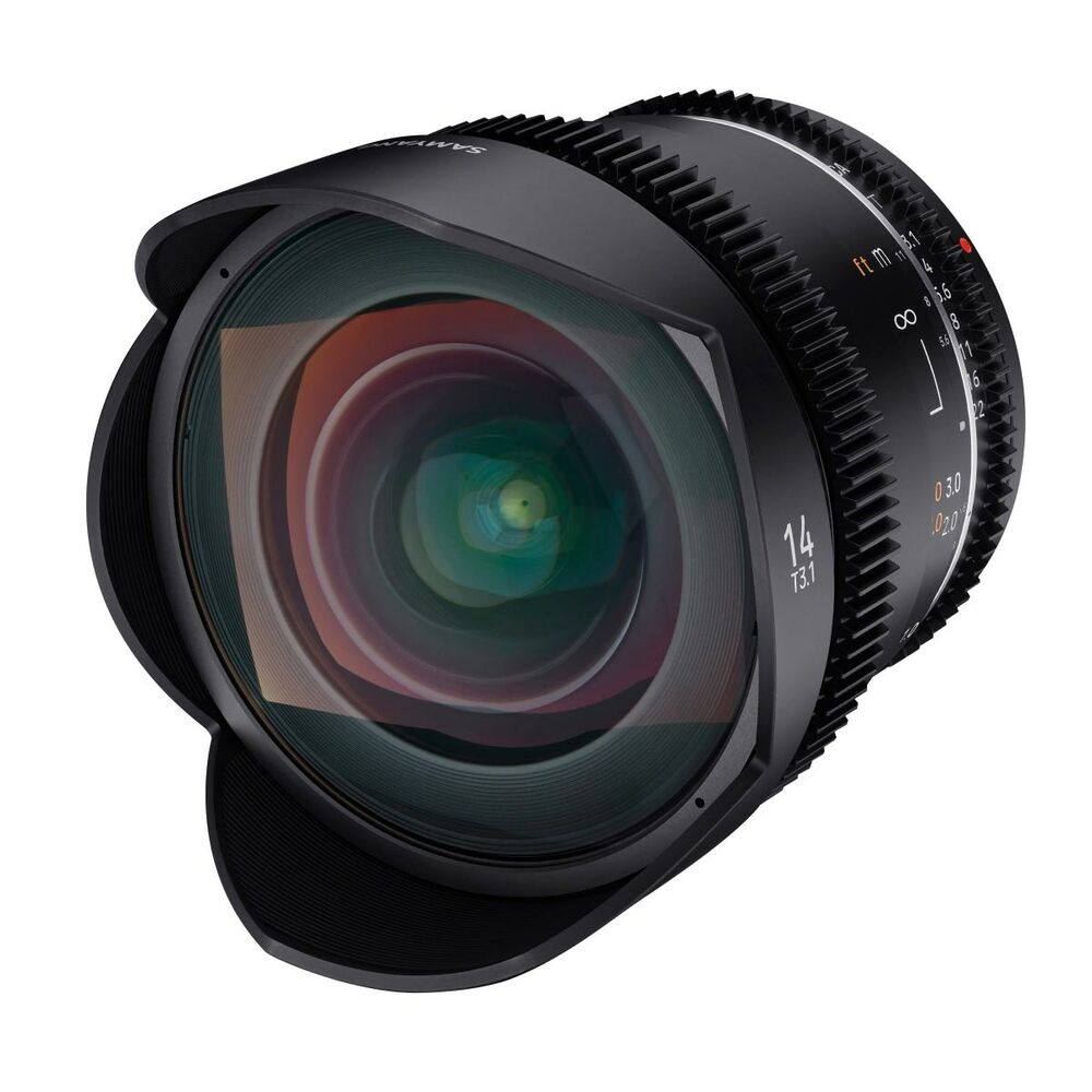 Samyang 10mm T3.1 VDSLR ED AS NCS CS objektiv za Canon