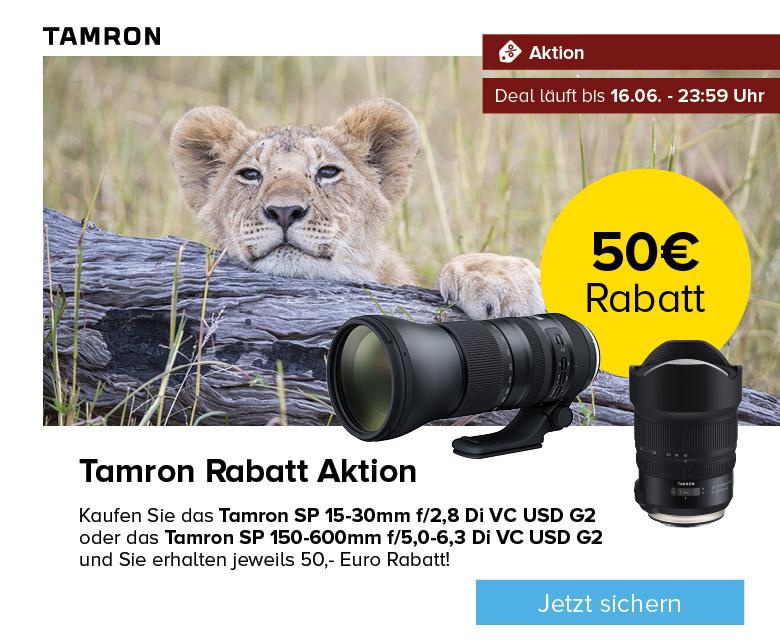 Tamron Rabatt Aktion