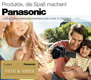 Panasonic Lumix G Digitale Systemkamera