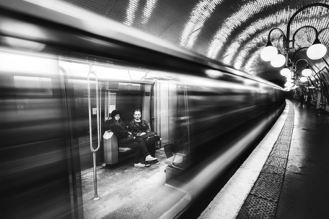 Pariser U-Bahn