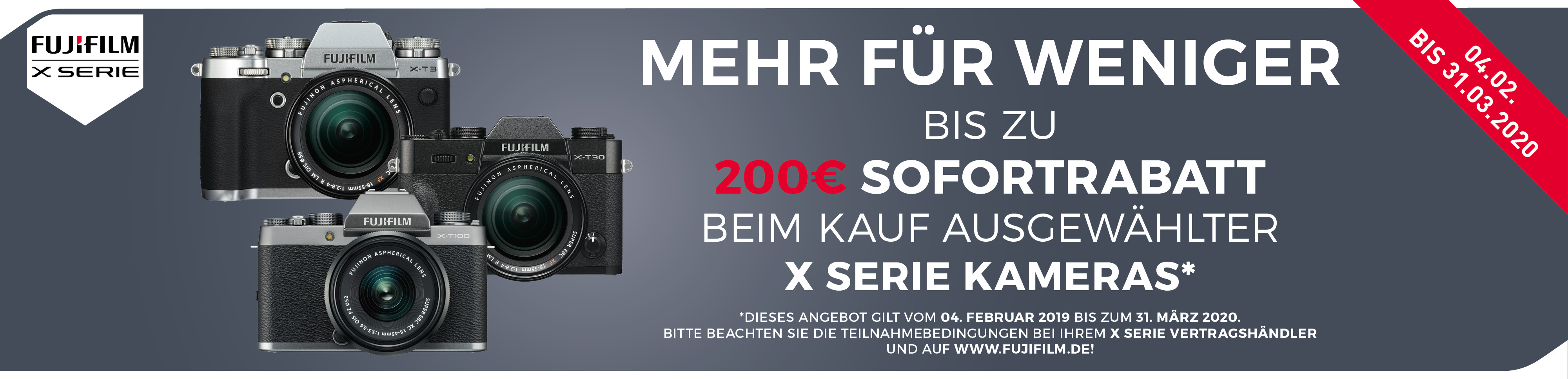 Fujifilm Sofortrabatt Aktion