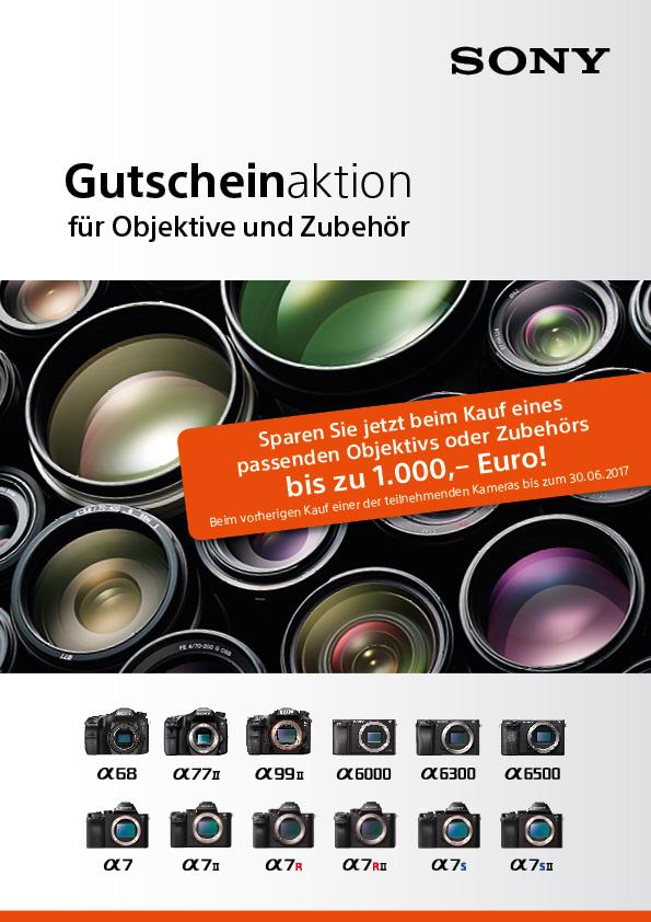 Sony Gutscheinheft Aktion