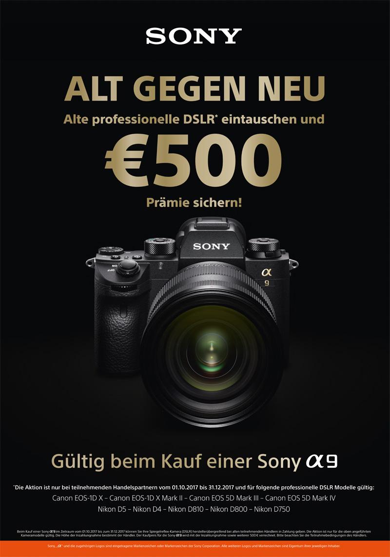 Sony Alt-gegen-Neu Alpha 9