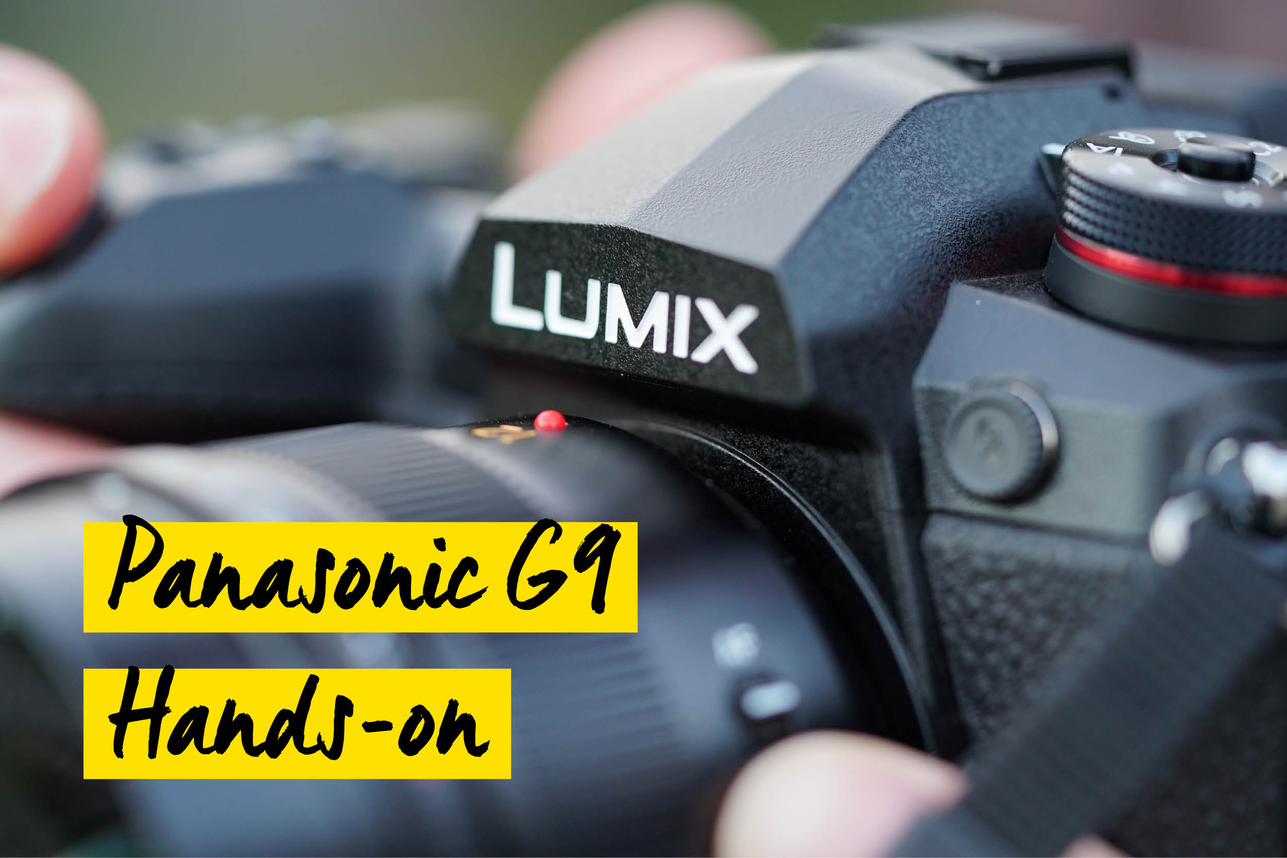 Panasonic G9 test