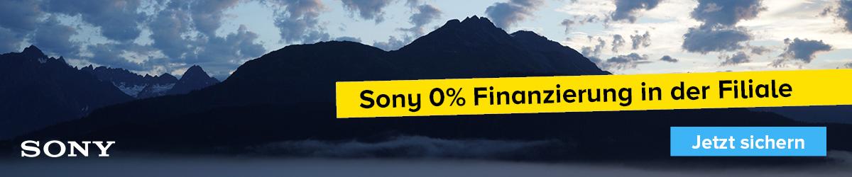 Sony 0% Finanzierung