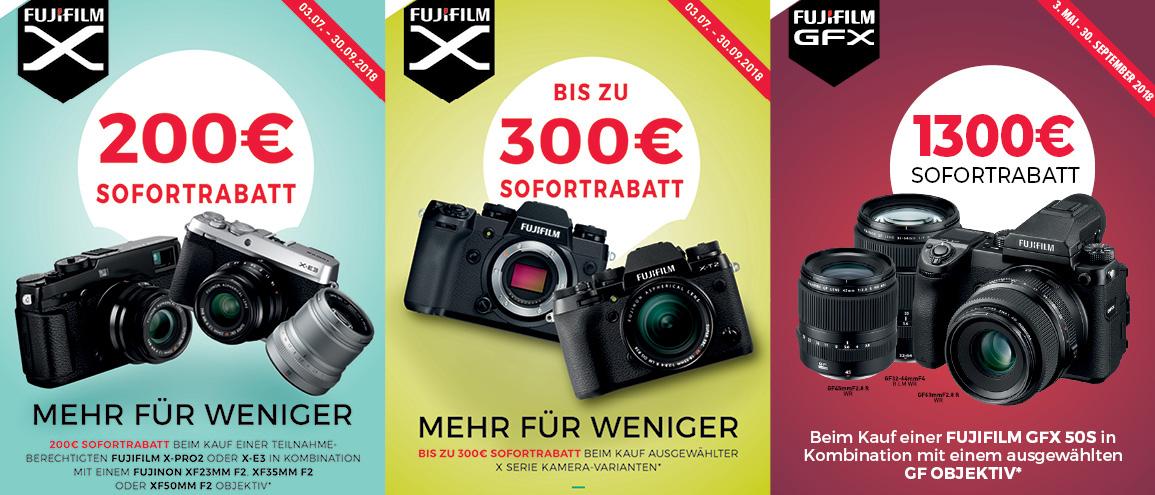 Fujifilm Sofortrabatt Aktionen