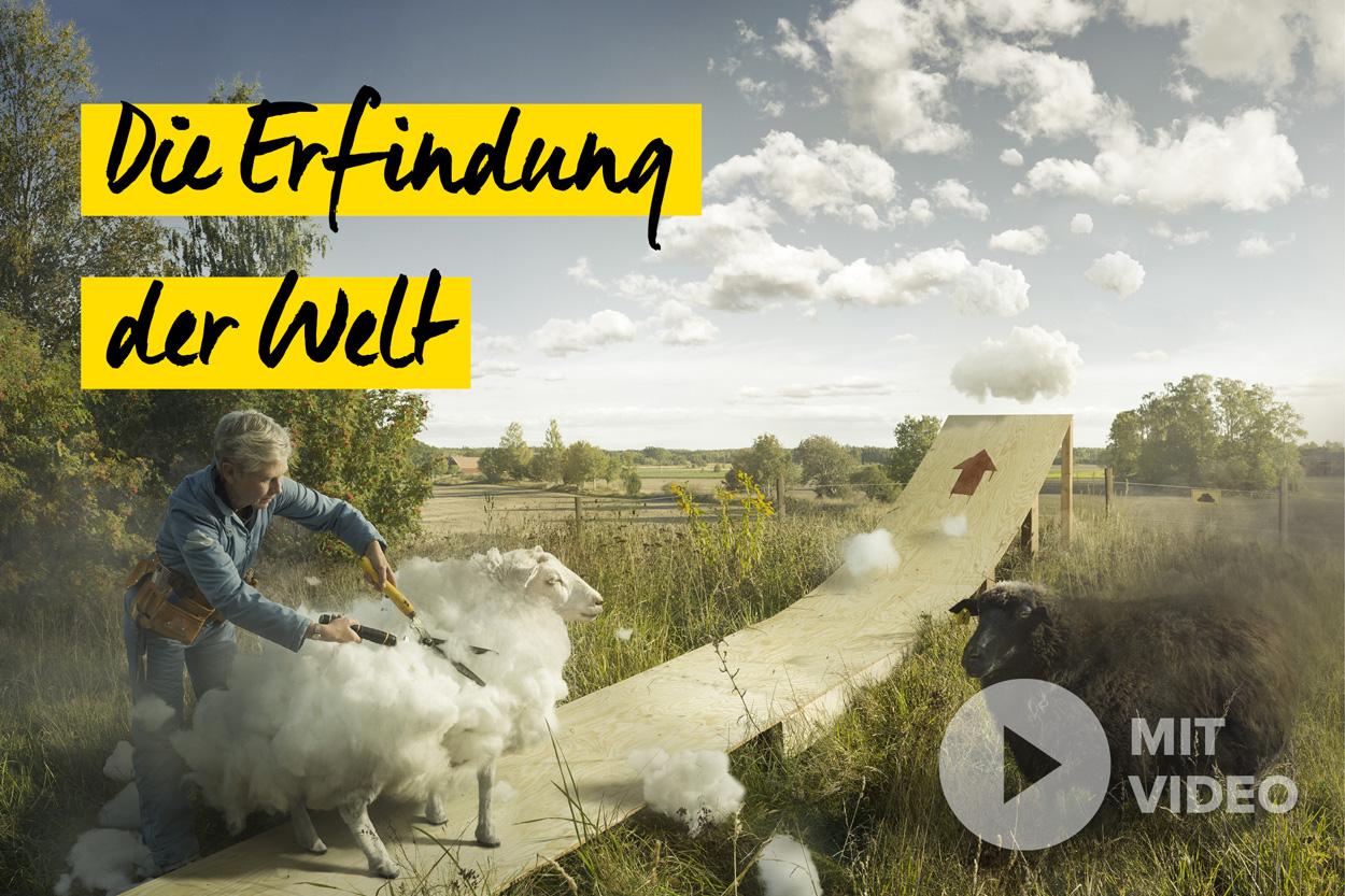 Schnappschuss 60 - Erik Johansson - Die Erfindung der Welt