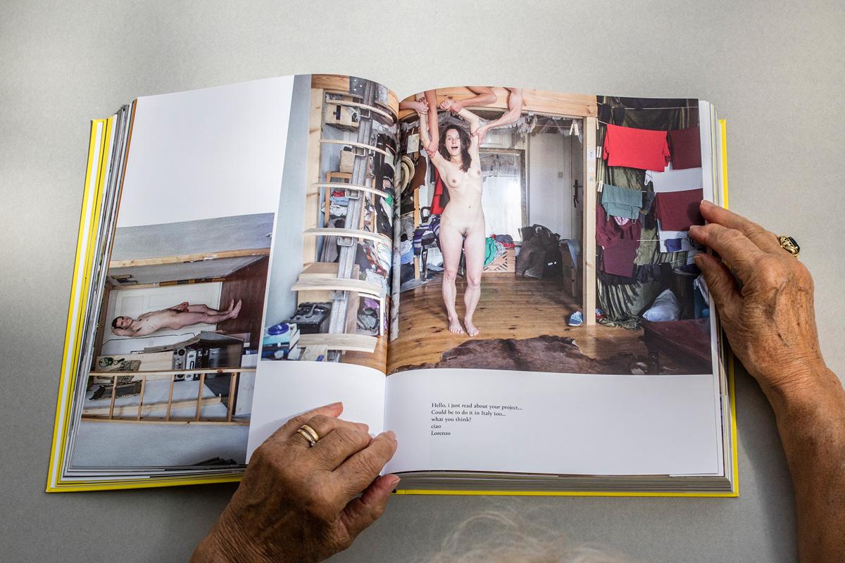 Schnappschuss 60 - Daily Portrait Berlin - Blick ins Buch