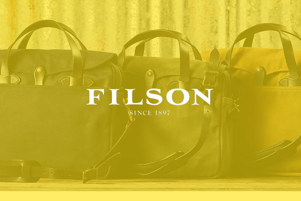 Stylische Outdoor-Taschen von Filson