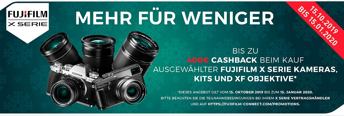 Fujifilm Winter Cashback 2019