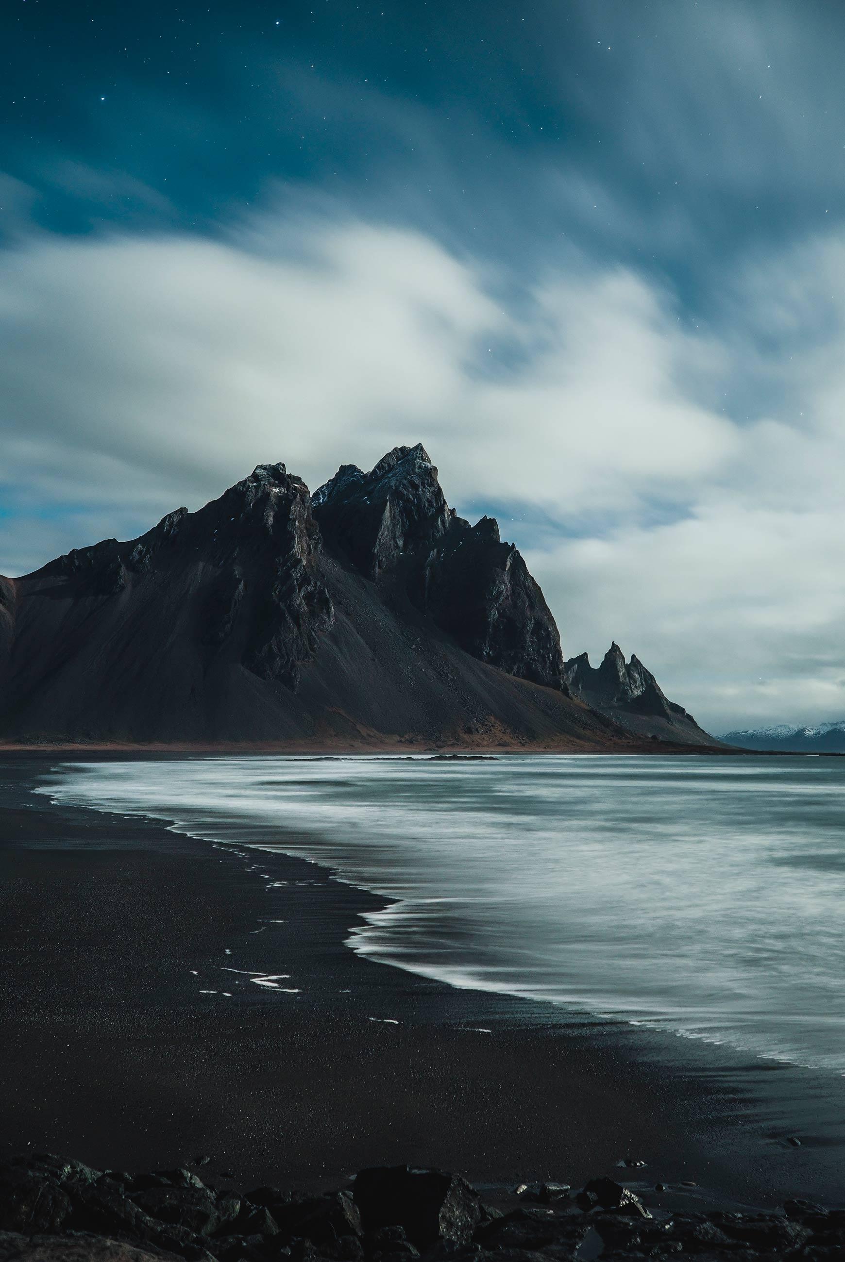 Island Küste Vulkan Benjamin Hardman