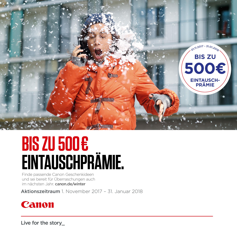 Canon Winter Eintauschprämie