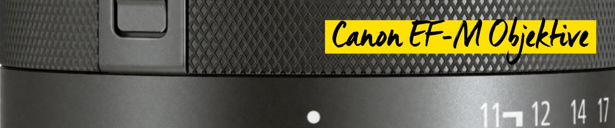 Canon EF-M-Objektive