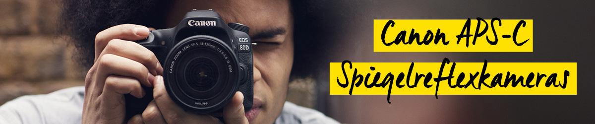 Canon APS-C Spiegelreflexkameras