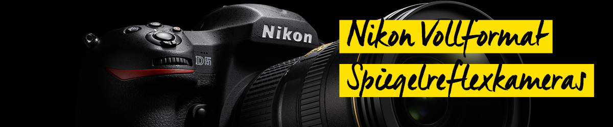 Nikon Vollformat Spiegelreflexkamera