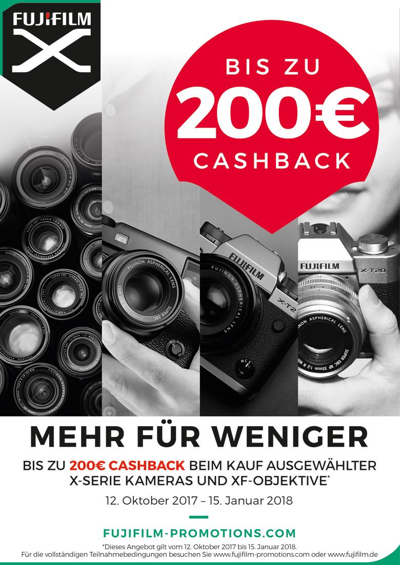 Fujifilm Winter Cashback