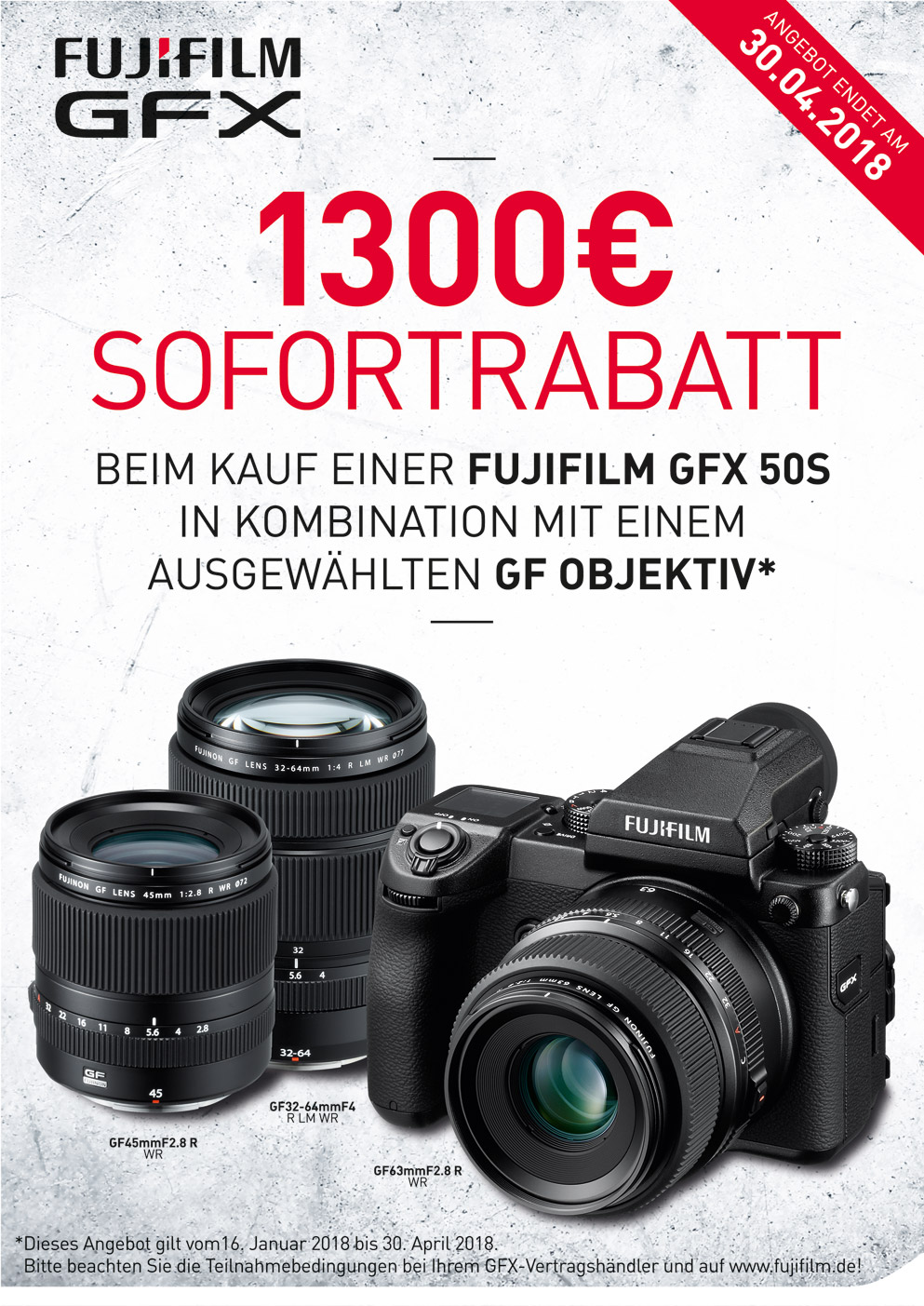 Fujifilm GFX Sofortrabatt
