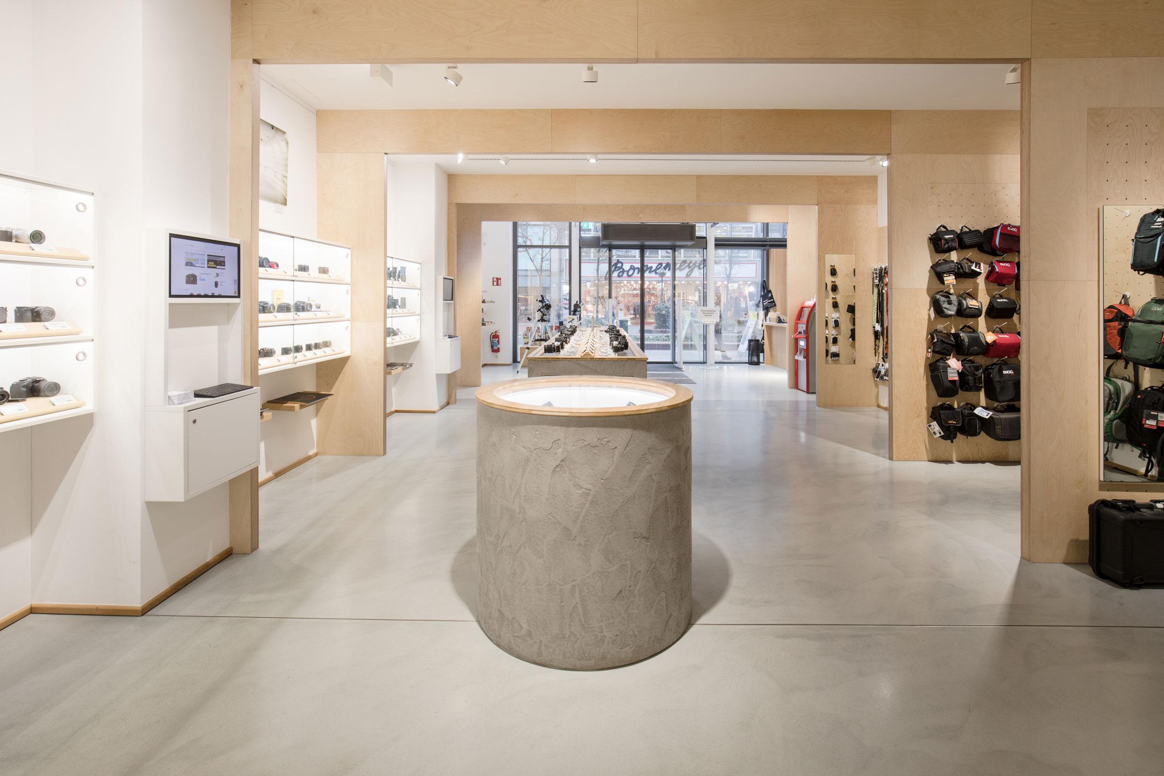 Ladengeschäft Foto Koch innen
