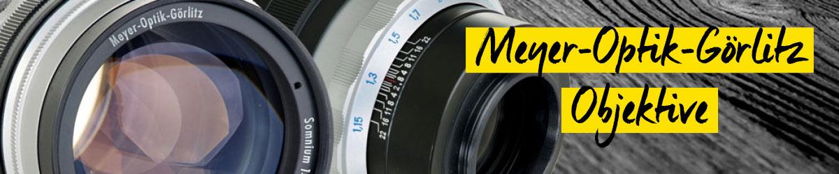 Meyer Optik Görlitz Objektive