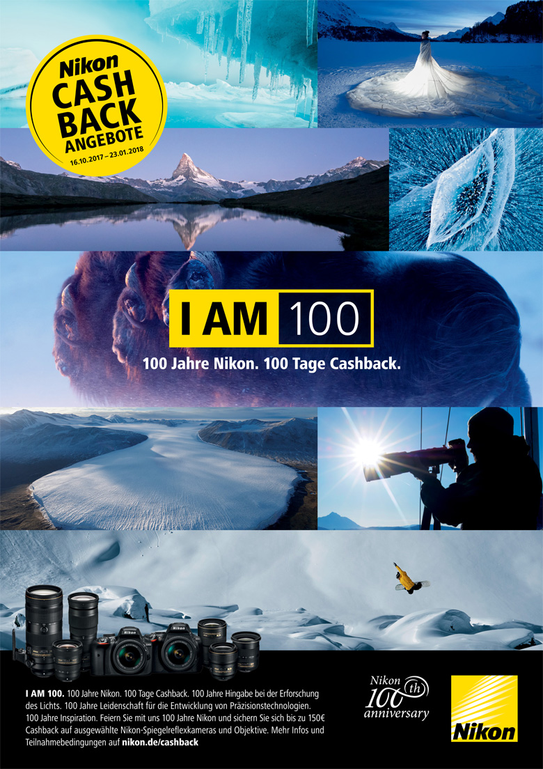 Nikon Winter Cashback Aktion